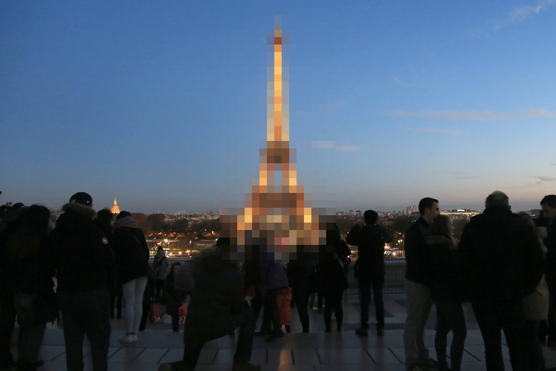 Parece a Torre Eiffel, mas eu juro que é outra. (foto: Osmar Portilho/TechBreak)