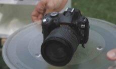 Youtuber coloca câmera da Nikon em forno micro-ondas; assista. Foto: reprodução Youtube