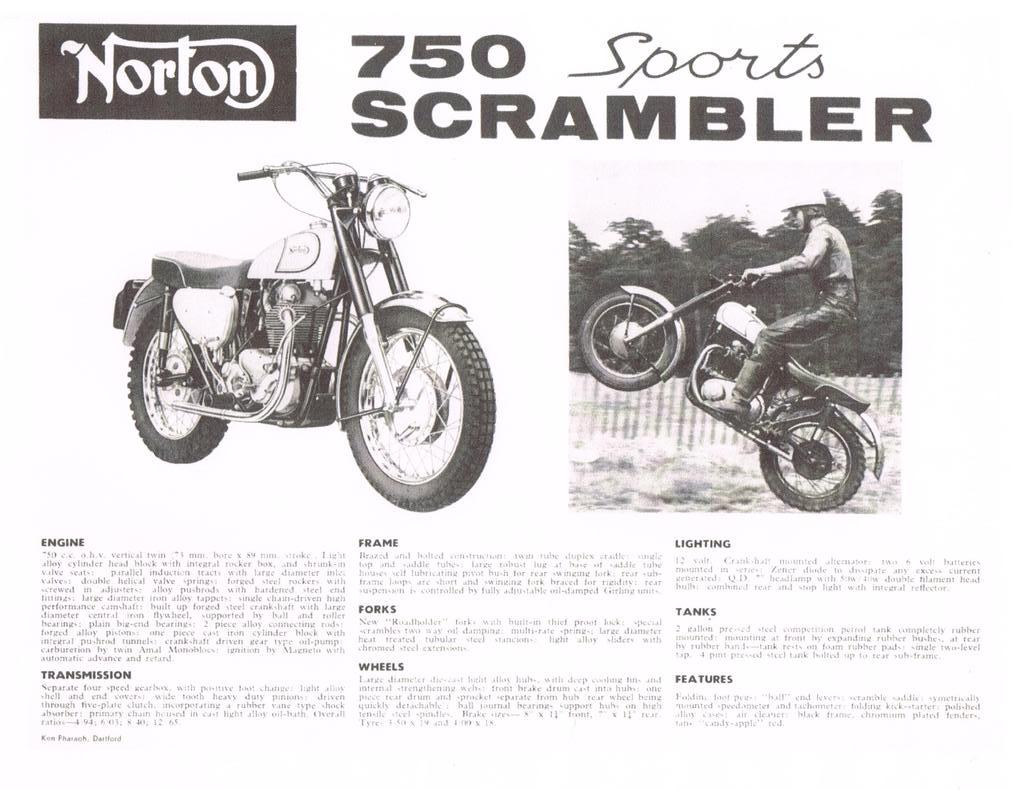 Norton Atlas Scrambler original
