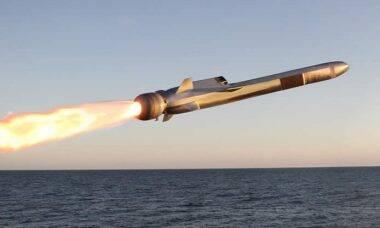 Míssil de ataque naval