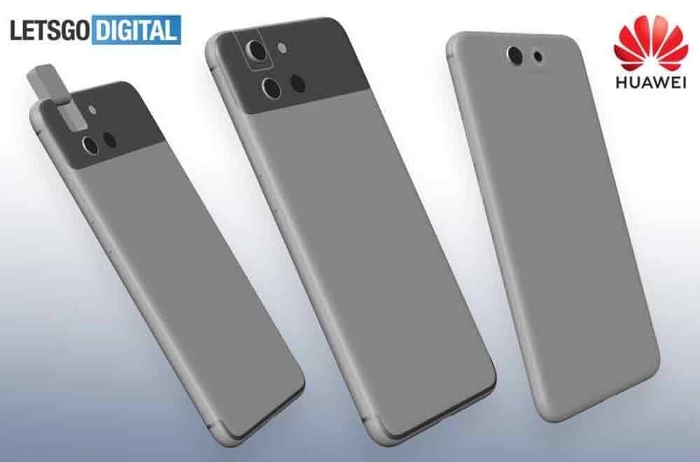 Huawei poderá lançar smartphone com câmara rotativa. Foto: LetsGoDigital