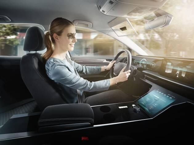 CES 2020: Bosch revela para-sol transparente e inteligente