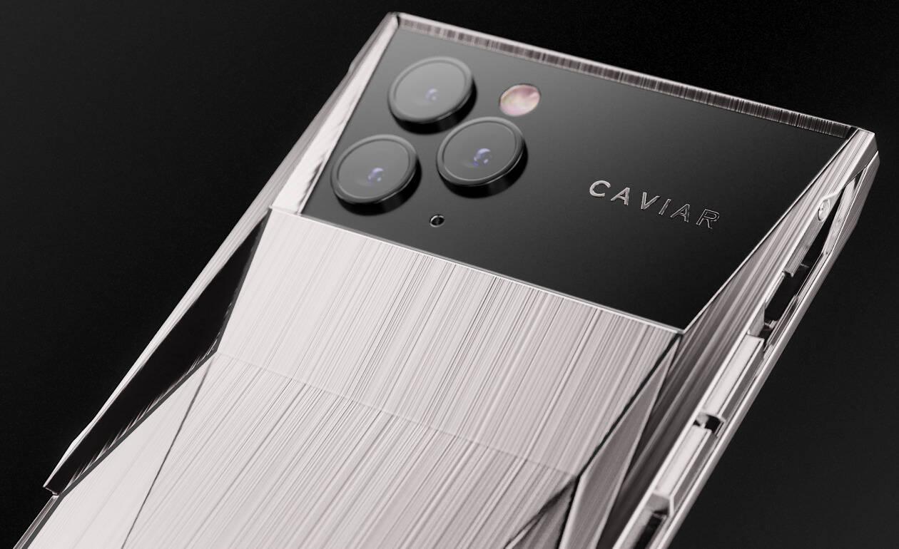 Caviar cria celular inspirado na Tesla Cybertruck