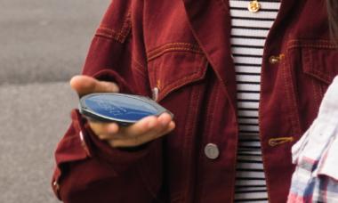 Startup mostra celular circular nos EUA