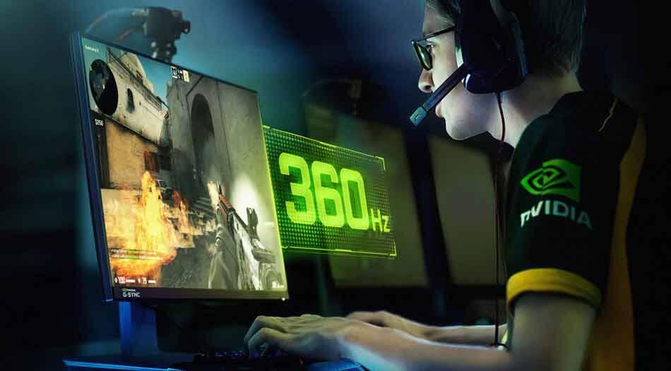 Nvidia lança novos monitores G-Sync, a tela mais rápida que já existiu