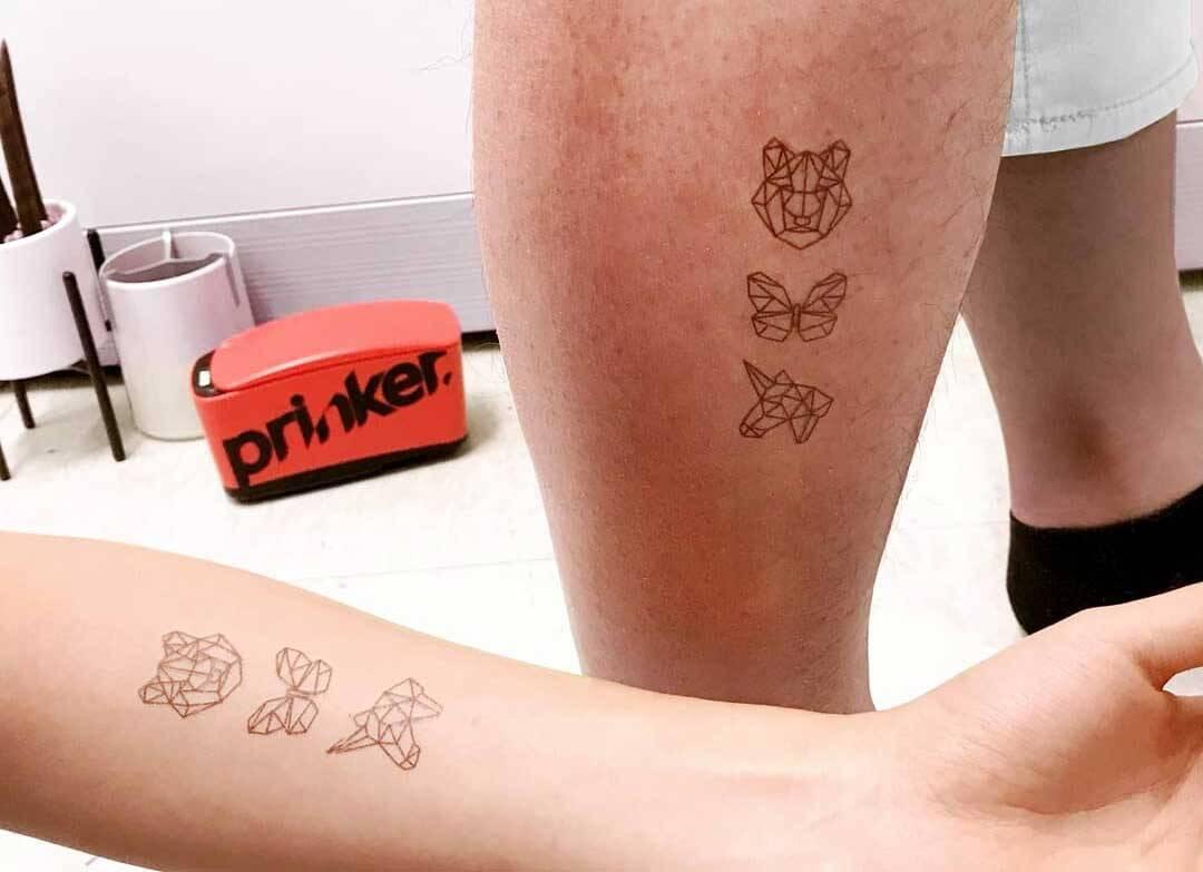 CES 2020: Aparelho faz tatuagens na pele em segundos