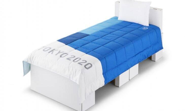 Atletas de Tóquio 2020 vão dormir em camas de papelão
