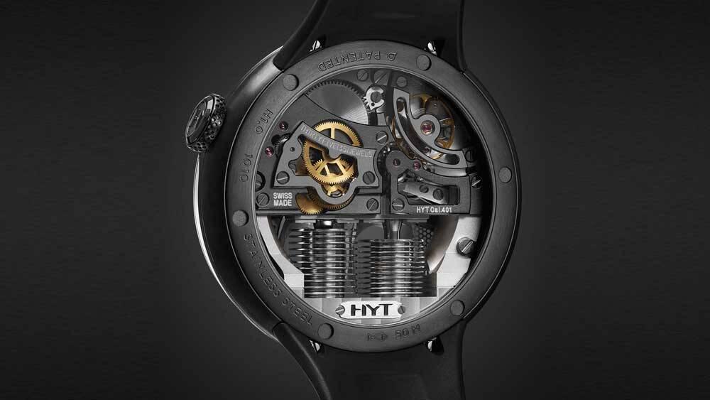 HYT cria relógio hidromecânico de edição limitada pelo preço de uma Mercedes Classe E