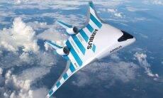 Airbus apresenta protótipo de avião futurista com uma asa gigante e nenhuma fuselagem separada