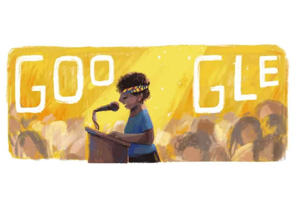 Lelia Gonzalez ganha doodle comemorativo ao seu 85º aniversário