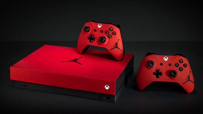 Microsoft lança XBox One X com o logo do Michael Jordan