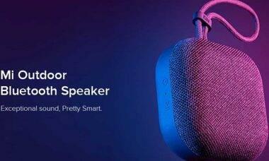 Xiaomi lança caixa de som Bluetooth para áreas abertas