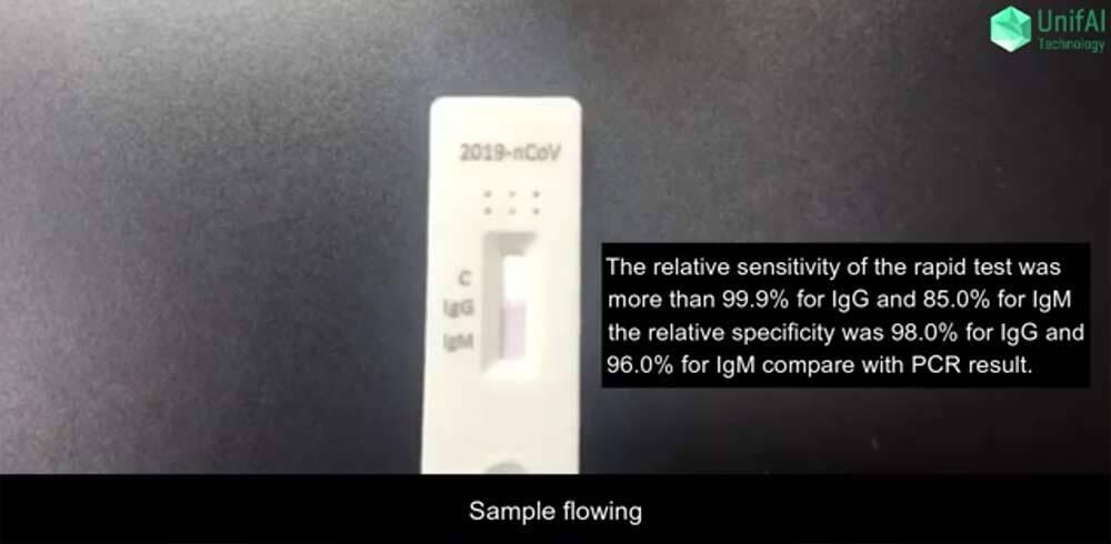 Teste rápido e acessível para testar a COVID-19