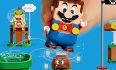 Lego Super Mario permite construir fases jogáveis