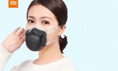 Xiaomi lança máscara de esterilização elétrica que carrega por USB