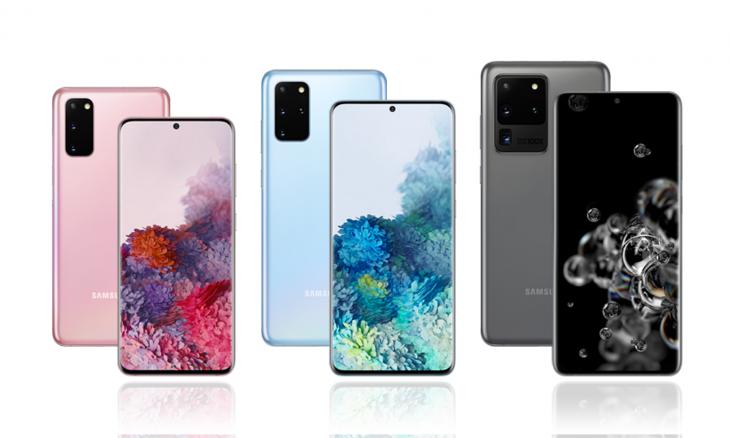 Samsung inicia pré-venda dos Galaxy S20, S20+ e S20 Ultra