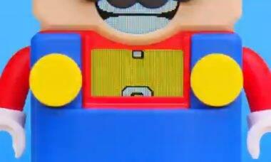 Lego anuncia parceria temática de Super Mario
