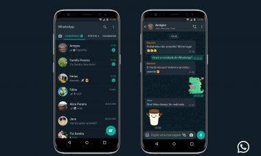 Modo escuro do WhatsApp é liberado oficialmente