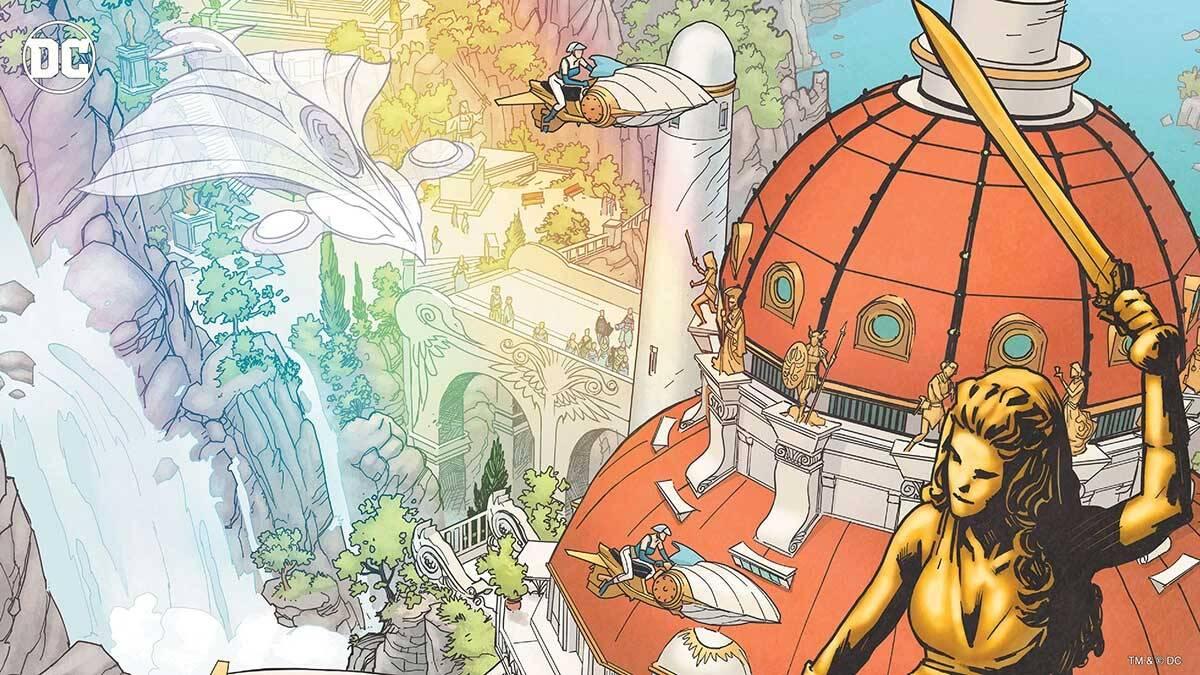 Themyscira. Foto Divulgação / Dc Comics