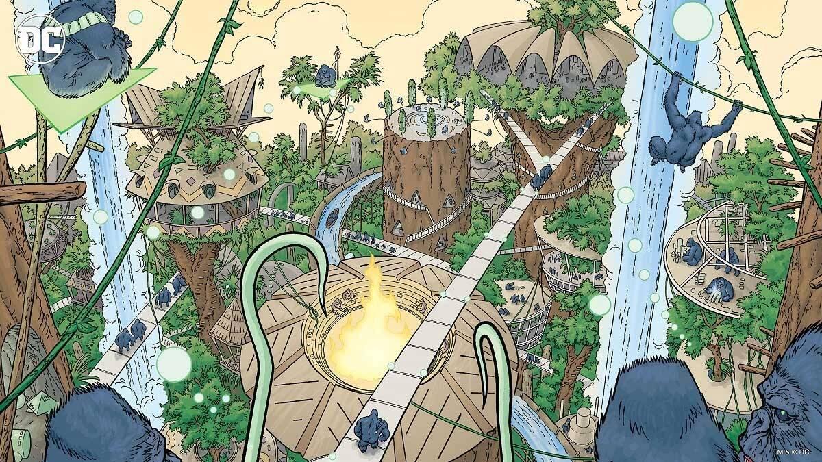 Gorilla City. Foto Divulgação / Dc Comics