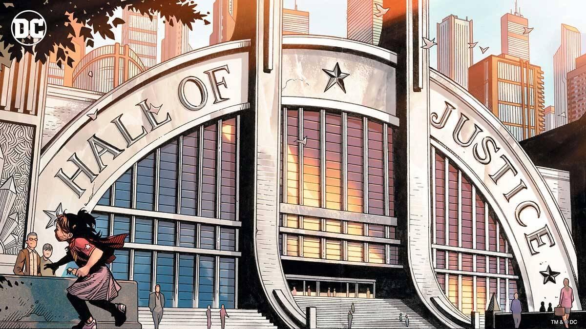 Sala da Justiça. Foto Divulgação / Dc Comics