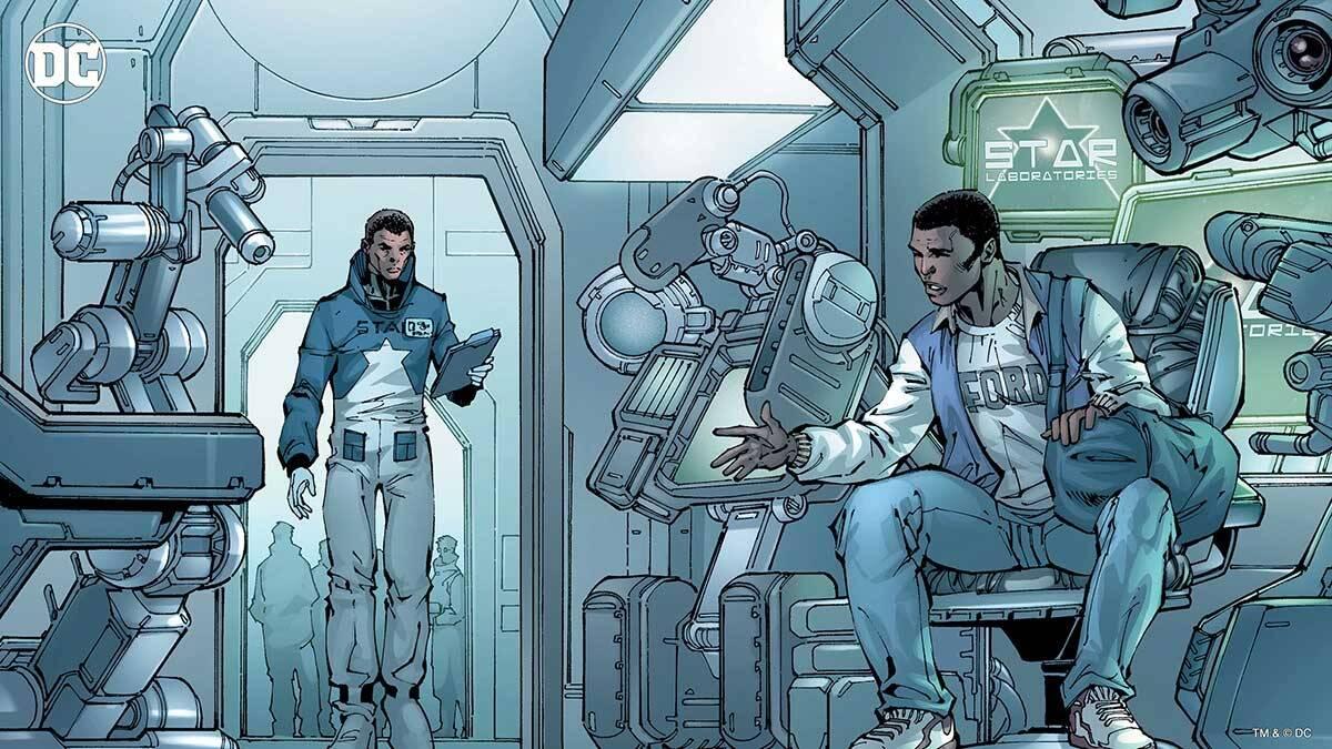 STAR Labs. Foto Divulgação / Dc Comics