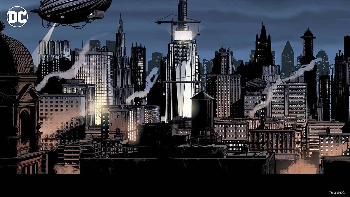 Gotham City. Foto Divulgação / Dc Comics