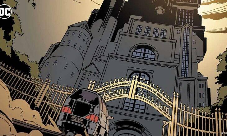 Asilo Arkham . Foto Divulgação / Dc Comics