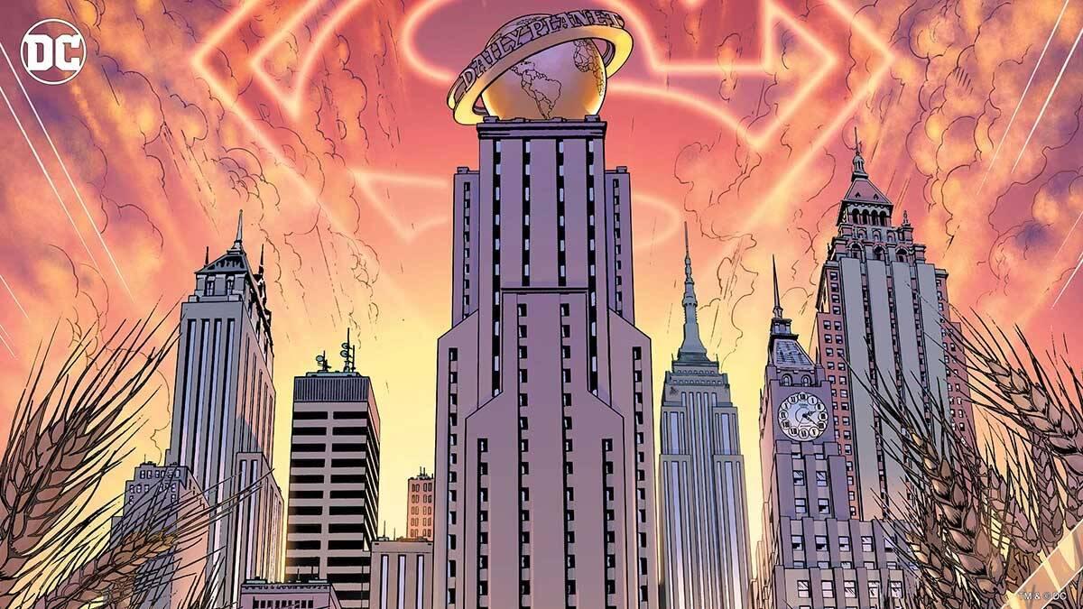 Planeta Diário. Foto Divulgação / Dc Comics