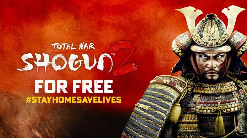 """Total War: Shogun II"" estará disponível de graça a partir do dia 27"