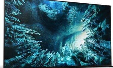 Sony lança novas TVs de 8K e 4K