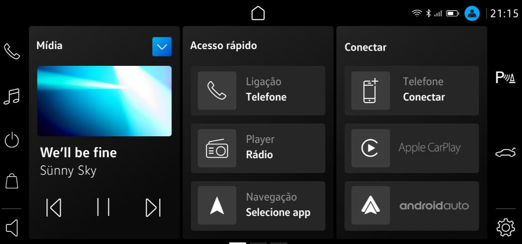 Central multimídia VW Play tem wi-fi e Apple CarPlay sem fio