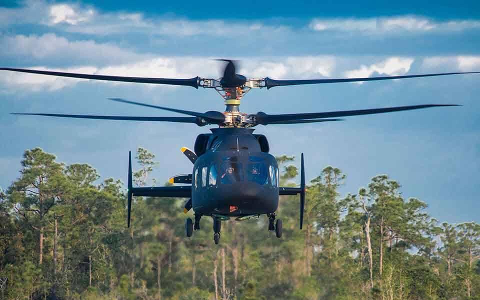 O Defiant baseia-se na tecnologia X2 da Sikorsky