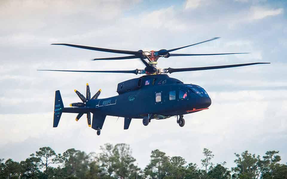 Sikorsky-Boeing divulgam novo vídeo de seu helicóptero SB> 1 Defiant