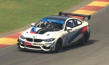 BMW lança versão virtual do M4 GT4 para o iRacing