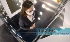 Cabine de desinfecção do aeroporto de Hong Kong mata o coronavírus em 40 segundos usando nano agulhas