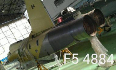 Ex-caça F-5 da FAB está à venda a partir de R$ 30.470