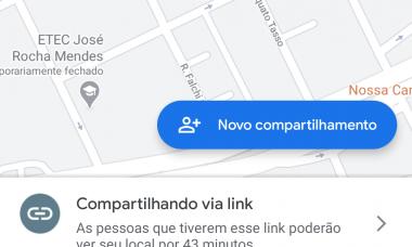 Google Maps ganha nova interface para envio de localização em tempo real