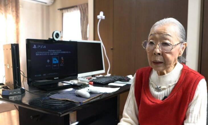 Aos 90 anos, Hamako Mori é a youtuber de games mais velha do mundo