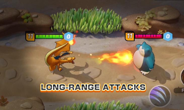 Novo Pokémon Unite é um jogo no estilo de LoL