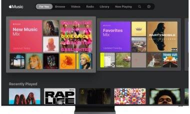 Samsung faz parceria com a Apple Music para linha de Smart TVs