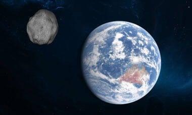 Asteroide de quase 200 metros se aproxima da Terra no próximo sábado (27)