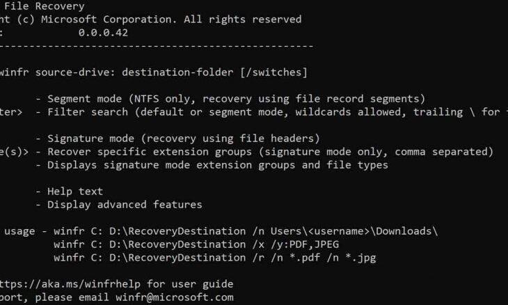 Microsoft lança app para recuperar arquivos perdidos no Windows