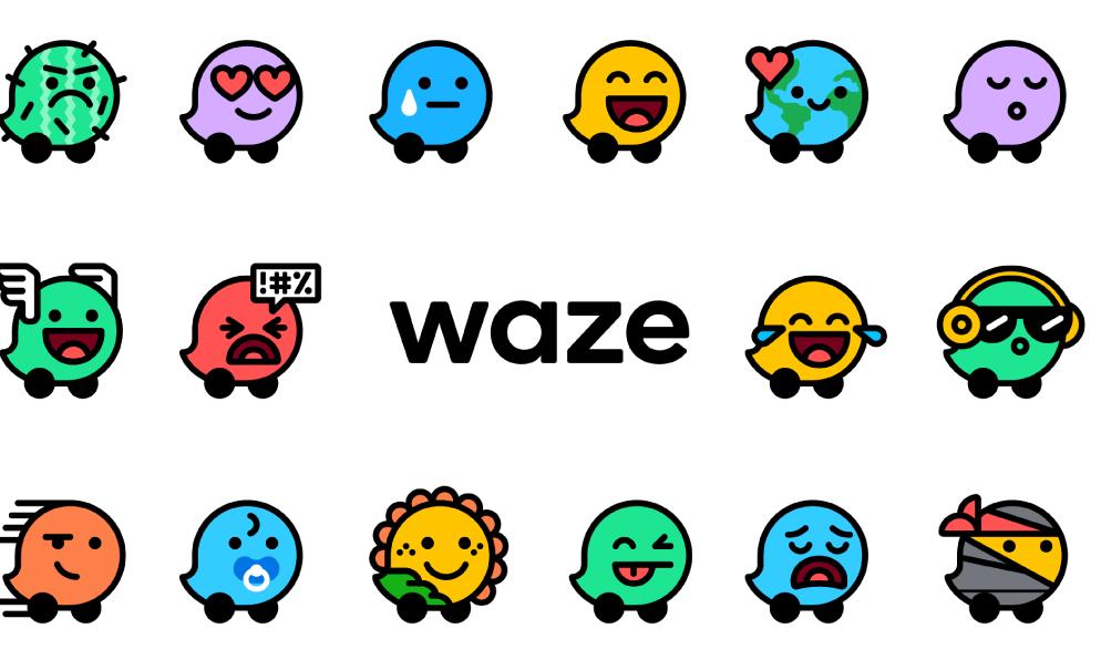 Waze estreia novo visual com mais cores e humores