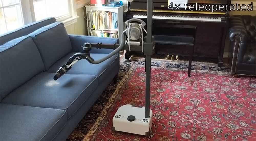 Ex-diretor de robótica da Google desenvolve robô que se encarrega de tarefas domésticas. Foto: Youtube
