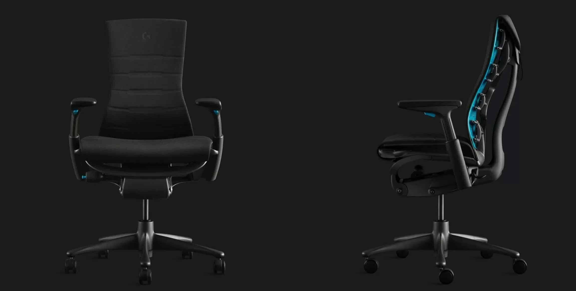 Herman Miller e Logitech, lançam cadeira ergonômica para ficar horas jogando sem sentir dor