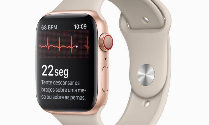 Apple Watch estreia função eletrocardiograma no Brasil