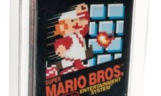 "Cartucho de ""Super Mario Bros."" é vendido por US$ 114 mil"