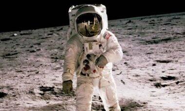 NASA restaura vídeo do Homem na Lua com recurso de Inteligência Artificial