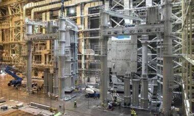 Maior projeto de fusão nuclear do mundo entra na fase final. Foto: Iter© EPA/NATIONAL FUSION RESEARCH INSTITUTE